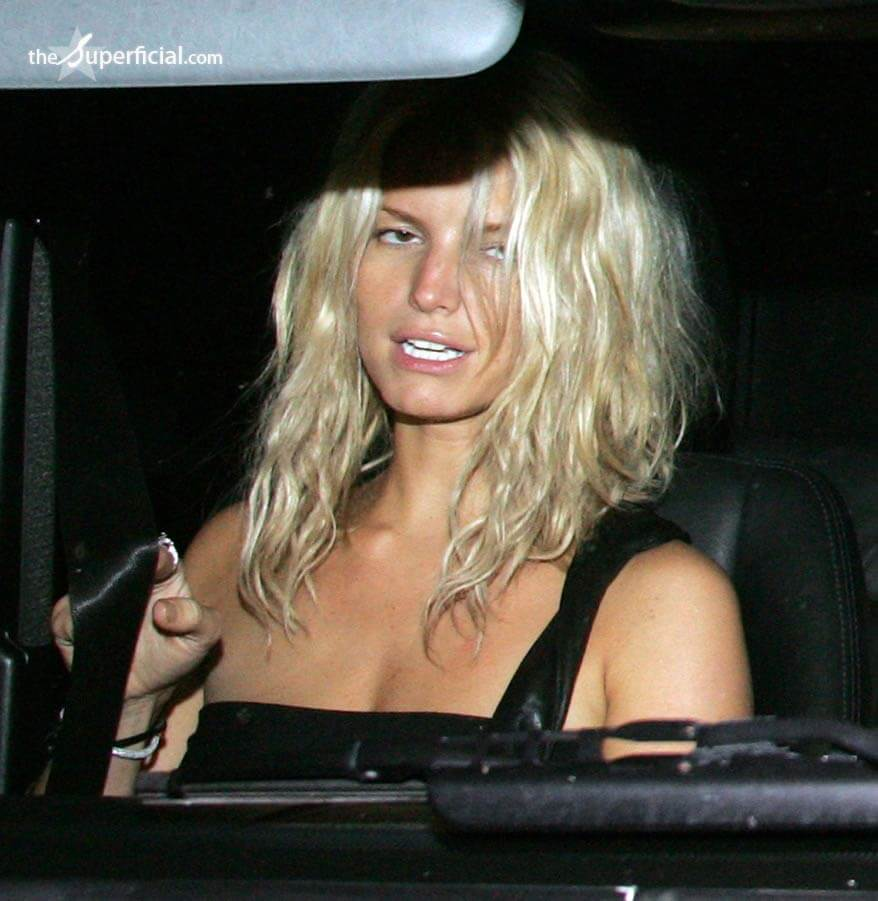 was jessica simpson drunk on live television? what's behind the hot