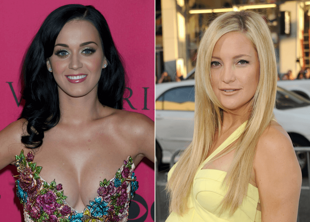 Katy Perry and Kate Hudson how many people have my name